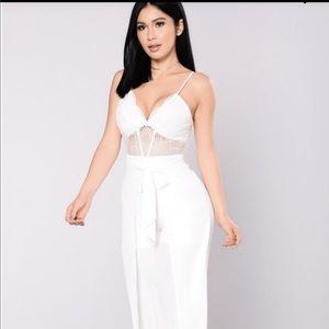 One piece fashion nova jumpsuit